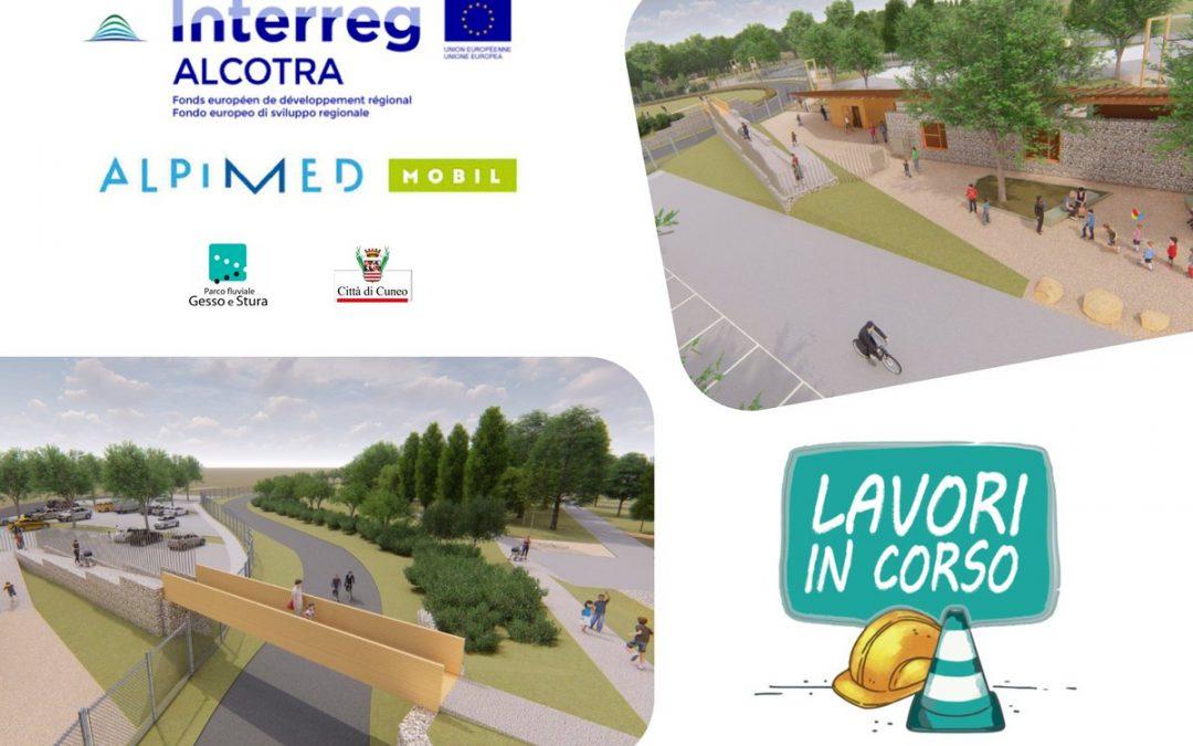 Travaux de rénovation au Parc Fluvial Gesso et Stura de Cuneo